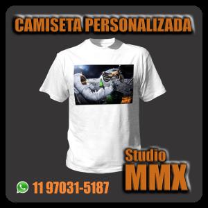 Camiseta Personalizada Studio MMX
