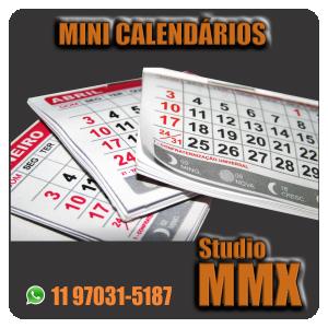 Mini Calendários Studio MMX
